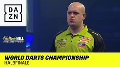 Michael van Gerwen auf dem Weg zur Titelverteidigung? World Darts Championship | Halbfinale | DAZN