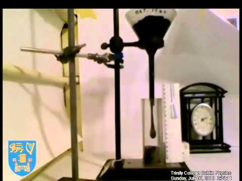 After 69 years, 'pitch drop' experiment finally caught on video