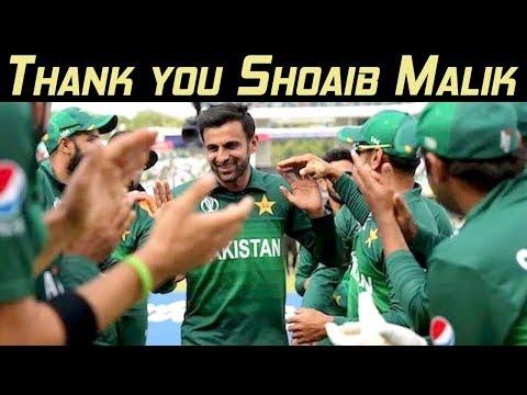 Thank you Shoaib Malik