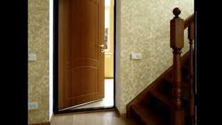 Дверь металлическая с МДФ накладками(Входные металлические двери с накладками из МДФ http://inox.dn.ua/metal-mdf-dveri., 2013-10-15T07:18:06.000Z)