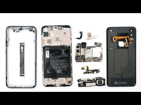 Разбираем смартфон Xiaomi Mi Play Teardown