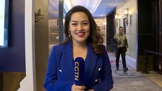 CGTN reporter introduced media technology at the 2019 CGTN Global Media Summit