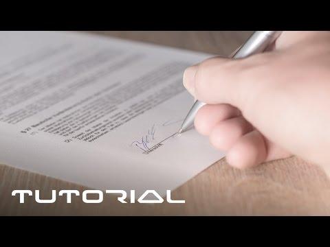 PDF Dokumente unterschreiben - EINFACH SO - ohne sie zu drucken - Tutorial