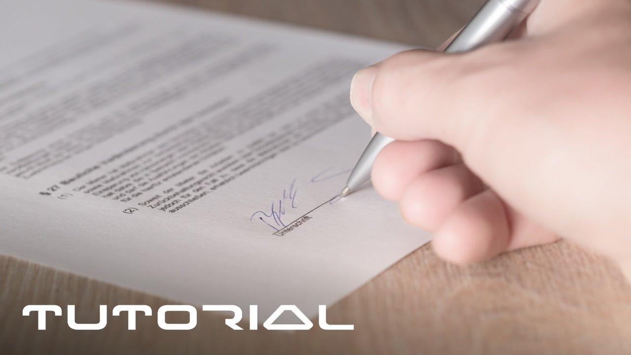 Pdf Dokumente Unterschreiben Einfach So Ohne Sie Zu Drucken