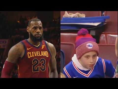 LeBron James Breaks Kid's Heart Who Wanted Wendy's!