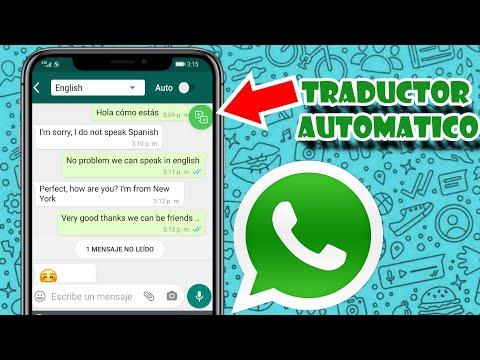 Chatea y traduce en cualquier idioma desde whatsapp.( traductor automático para whatsapp)