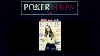 Poker Show VR ● Покер на раздевание, раздеваем Katie. Live #1