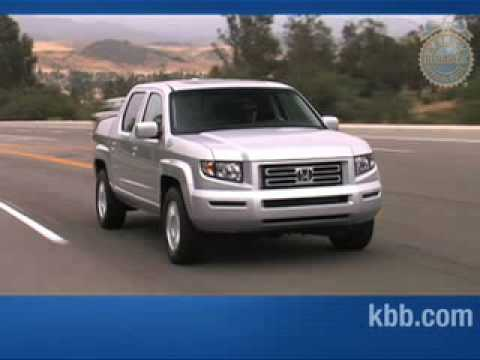 2009 Honda Ridgeline Review - Kelley Blue Book - YouTube