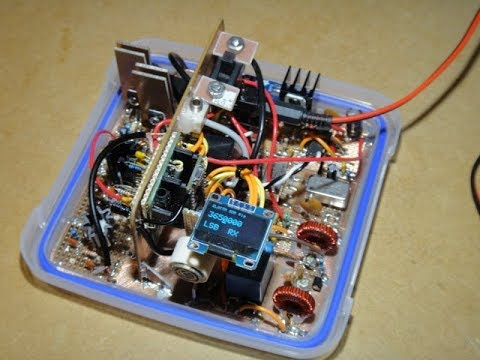 Homebrew Teensy SDR Transceiver Part 8 - Complete and Boxed Up