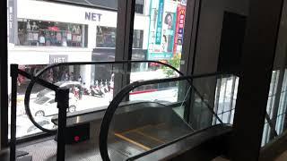今天的統領plaza  從二樓看看