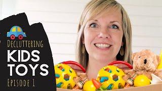 Trick To Organize Kids Toys In 20 Min!  Simplify Toys Series Ep. 1