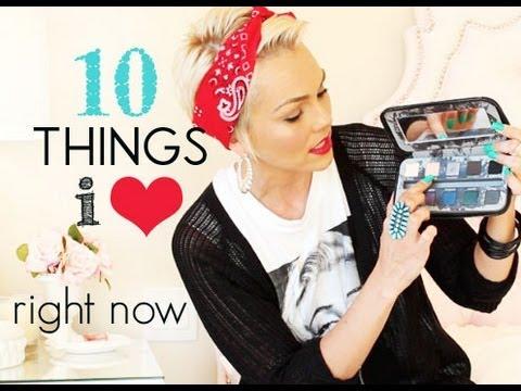 10 Things I'm Loving | Kandee Johnson