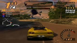 Need for Speed: Hot Pursuit 2, 8 Laps Calypso Coast - Ferrari 360 Spider