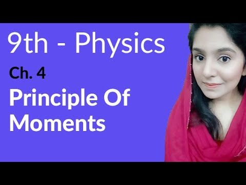 Principle of Moments - Physics Chapter 4 Turning Effect of Forces - 9th Class