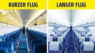 Warum Flugzeugsitze fast immer blau sind
