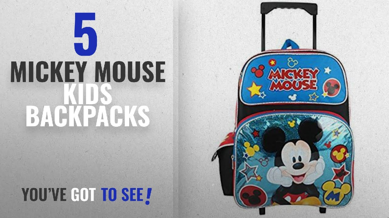 7ee2000eb8b Best Mickey Mouse Kids Backpacks  2018   Disney Mickey Mouse 16