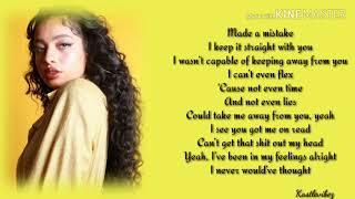 Kiana Ledé - Can I (Lyrics)