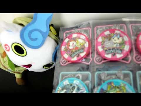 My Yo-Kai Watch Medal Collection