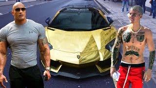The Rock's Cars VS Justin Bieber's Cars ★ 2018