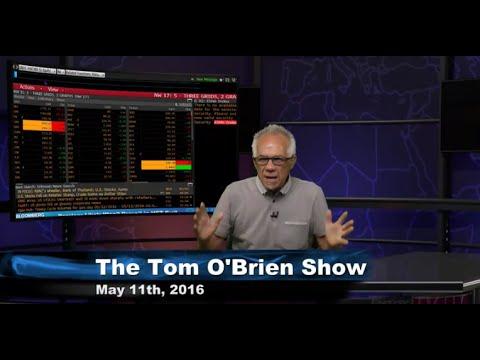 May 11th Daily Stock Market Recap by Tom O'Brien on TFNN   2016