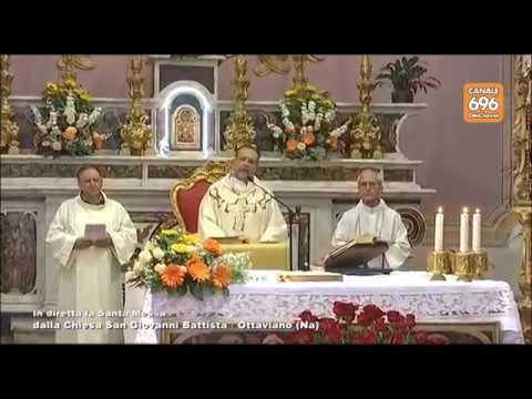 Santa Messa dalla Chiesa di San Giovanni Battista   Ottaviano (NA) 30.04.2017