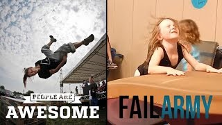 Video People Are Awesome vs FailArmy | Gymnastics edition download MP3, 3GP, MP4, WEBM, AVI, FLV Mei 2018