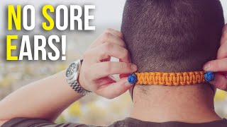 😷This Simple Paracord Piece Will Change How You Wear Your Mask! | Mask Ear Saver