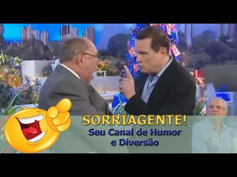 """Agora vai pegar! João Plenário frente com Roberto Cabrini, Conexão Repórter. """"Canal SORRIA GENTE"""""""
