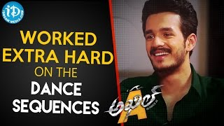 Worked Extra Hard On The Dance Sequences - Akhil Akkineni || Talking Movies with iDream