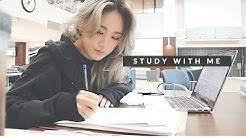 STUDY WITH ME AT THE LAW LIBRARY #2 + VLOG | 같이 공부해요 [도서관 백색소음]