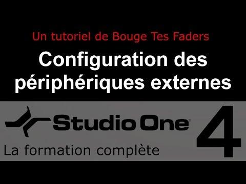 Formation Studio One 4 - B04: Configuration des périphériques externes