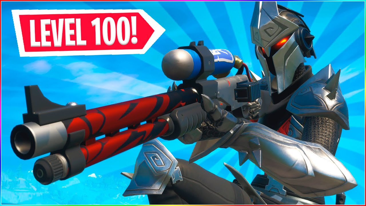 LEVEL 100 SKIN! | Dansk Fortnite
