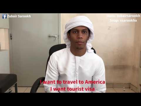Arab wants visa