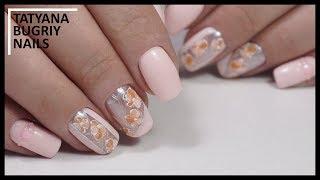 Дизайн ногтей Весенние Цветы/ Нанесение Пастельных гель лаков/ Маникюр в Тренде