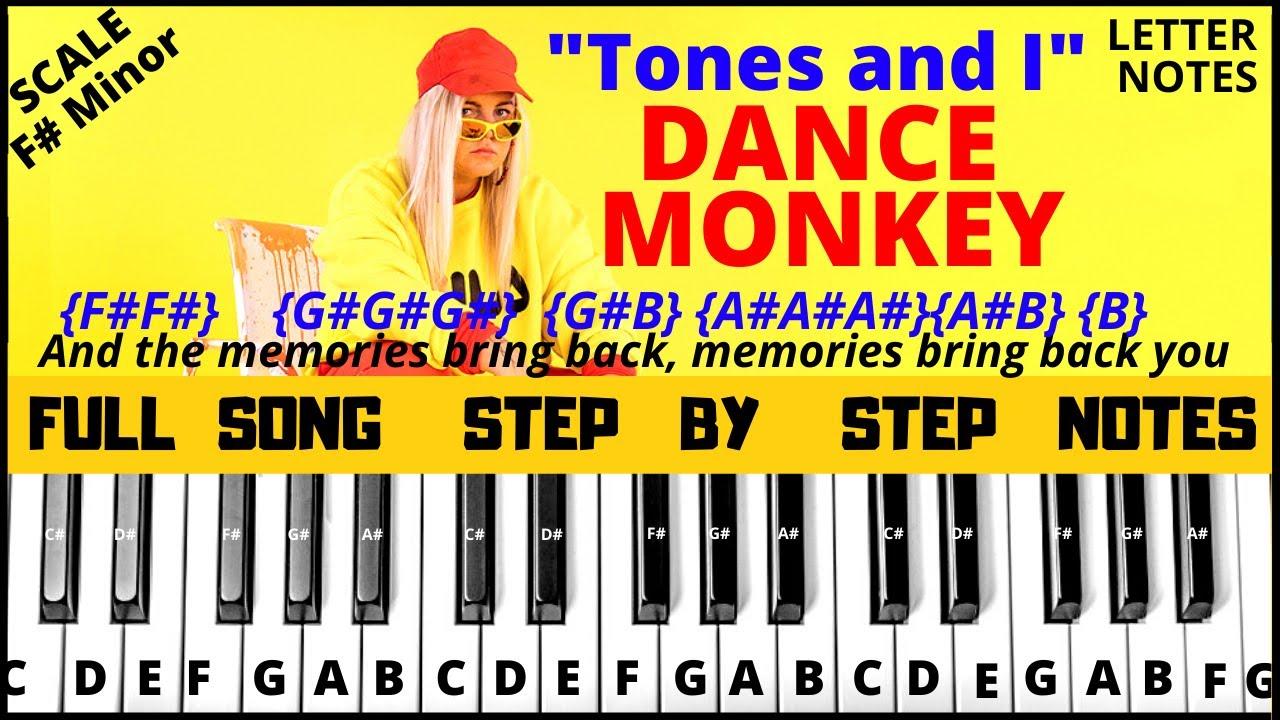 Dance Monkey Keyboard Notes Mj Music Notes
