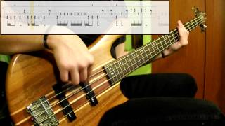 Inner Circle - Bad Boys (Bass Cover) (Play Along Tabs In Video)