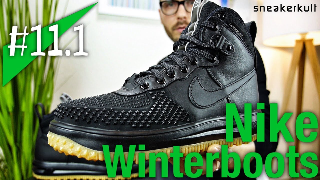 11.1 - NIKE WINTERBOOTS - Lunar Force 1 Duckboot - AM95 Sneakerboot -  Mowabb - Review - sneakerkult fb905f651