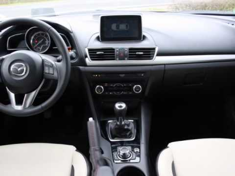mazda 3 skyactiv g sports leder off white navi. Black Bedroom Furniture Sets. Home Design Ideas