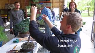 Bjorn Bjorholm Visits The Cleveland Bonsai Club Sept 2017 Youtube