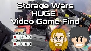 Huge Video Game Find on Storage Wars TV Show - #CUPodcast