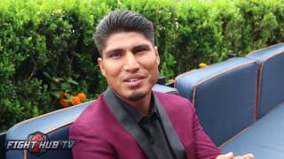 "Mikey Garcia after facing off against Broner ""If I Hurt The Guy, I"