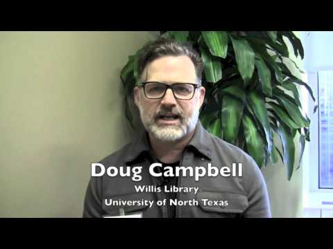 Doug Campbell on winning a 2015 I Love My Librarian Award