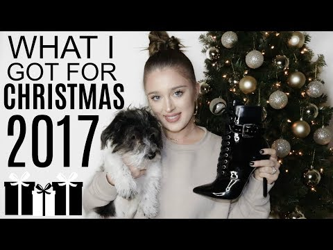 WHAT I GOT FOR CHRISTMAS 2017