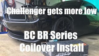 challenger gets bc br coilovers