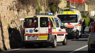 Severe Road Accident in Sanremo - February 25, 2019
