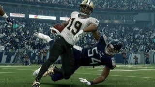 NFL Today 12/22 New Orleans Saints vs Tennessee Titans Full Game | NFL Week 16 (Madden)