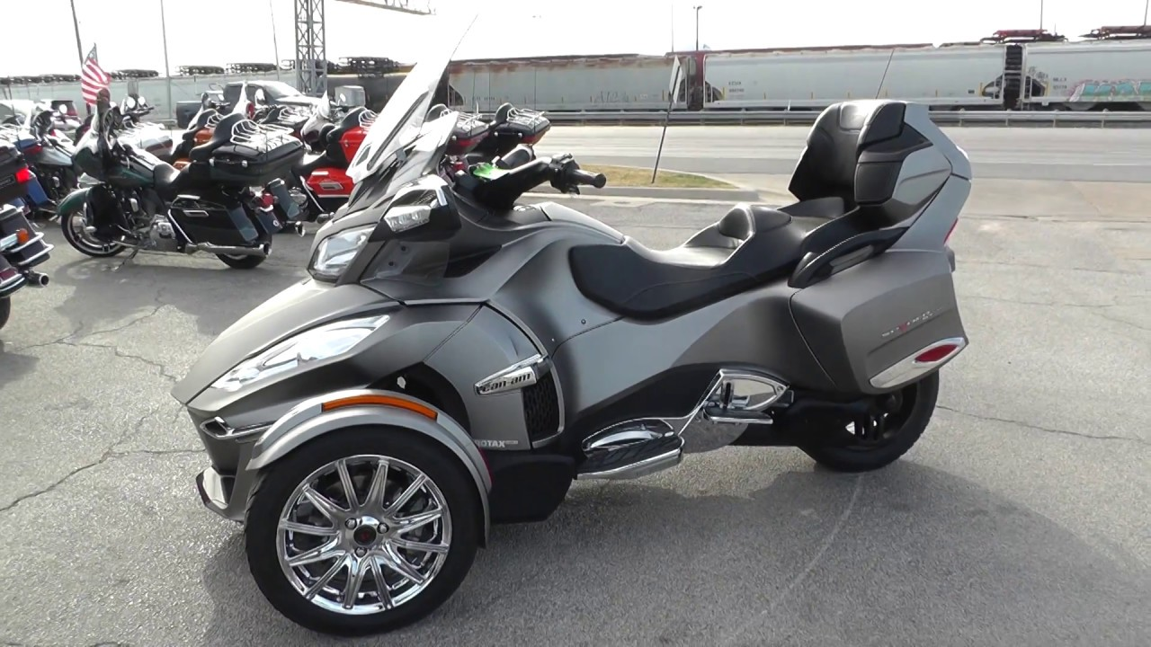 002366 2014 can am spyder rt limited se6 used motorcycle for sale youtube. Black Bedroom Furniture Sets. Home Design Ideas