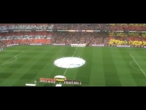 Tremenda pitada al himno español antes de la final de la Copa del Rey