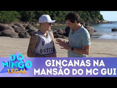 Gincanas na mansão do MC Gui - Completo | Domingo Legal (11/03/18)