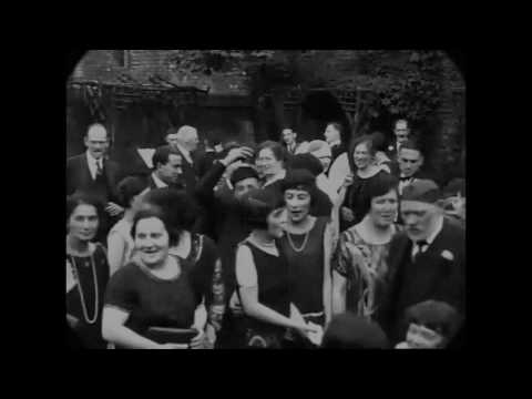 June 16, 1925 - Wedding in London, UK (speed corrected w/ added sound)